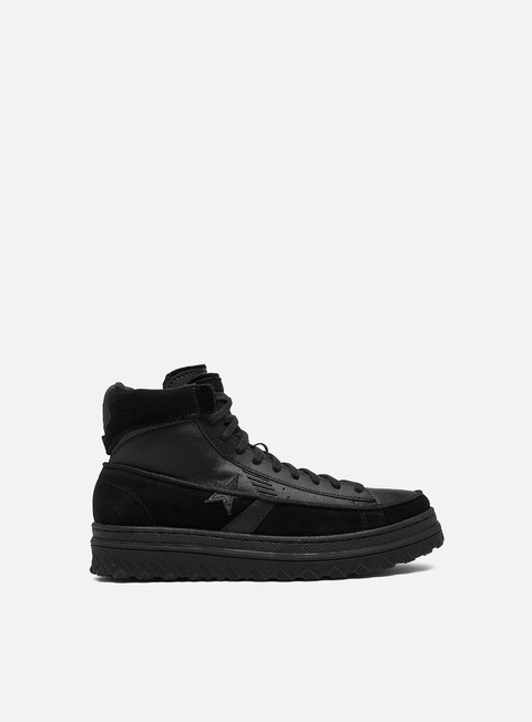 Sneakers Alte Converse Black Ice Pro Leather X2 Hi