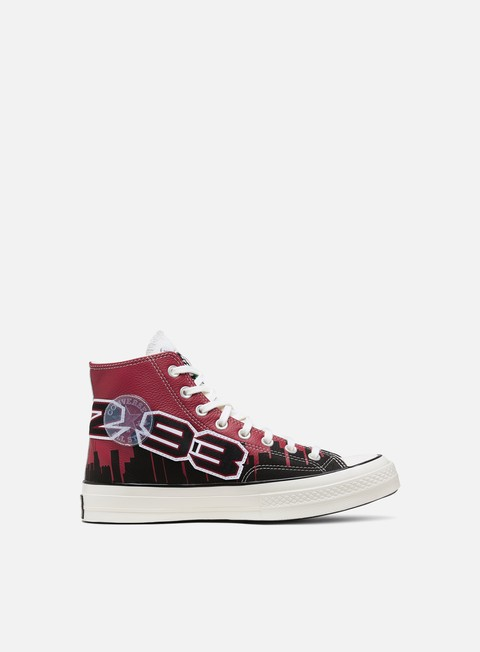 Sneakers Alte Converse Chinatown Market Bulls Championship Jacket Chuck 70 Hi