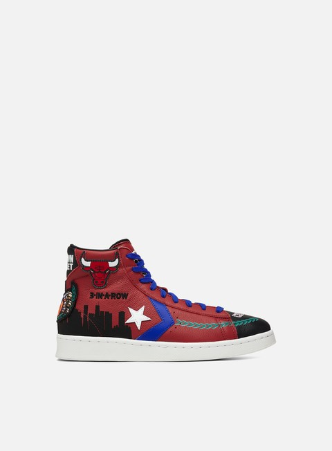 Basket Sneakers Converse Chinatown Market Bulls Championship Jacket Pro Leather Hi
