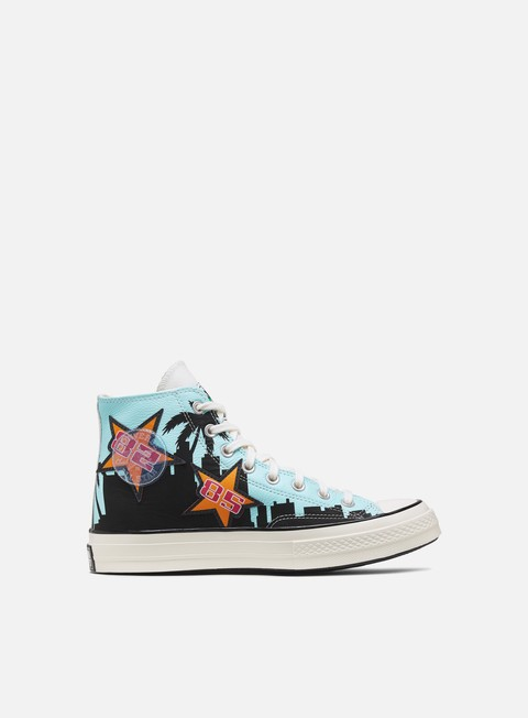 Sneakers Alte Converse Chinatown Market Lakers Championship Jacket Chuck 70 Hi