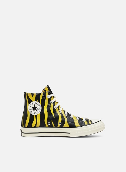 High Sneakers Converse Chuck 70 Archive Prints Leather Hi