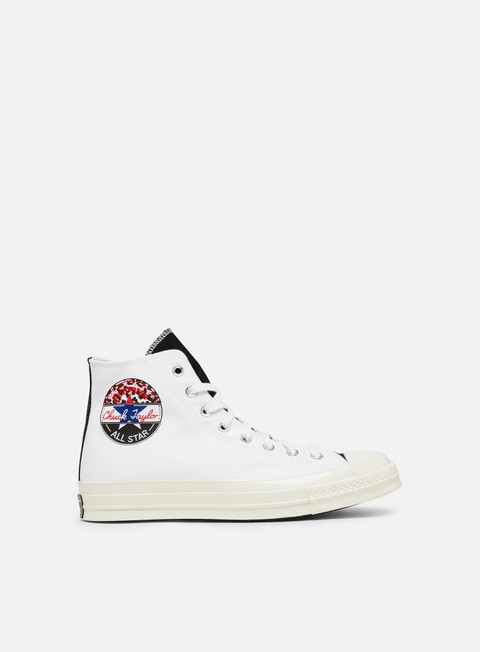 Sneakers Alte Converse Chuck 70 Logo Play Canvas Hi