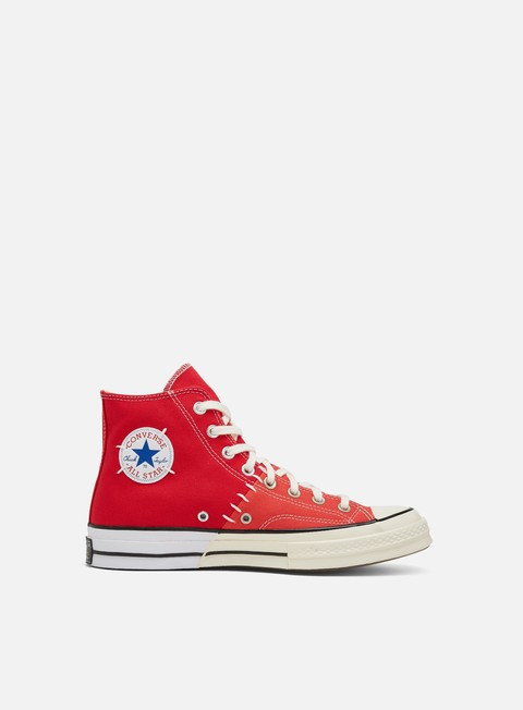 Sneakers Alte Converse Chuck 70 Reconstructed Canvas Hi