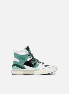 Converse - Chuck 70 Rubber E260 Hi, White/Beryl Green/Black