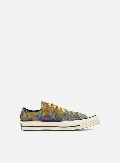 Converse Chuck 70 Tie Dye Plaid Low