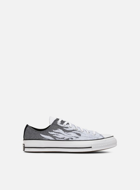 Outlet e Saldi Sneakers Basse Converse Cuck 70 Archive Flames Low