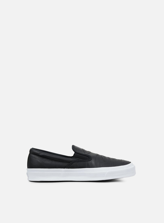 Converse - Deckstar SP Slip, Black/Black/White