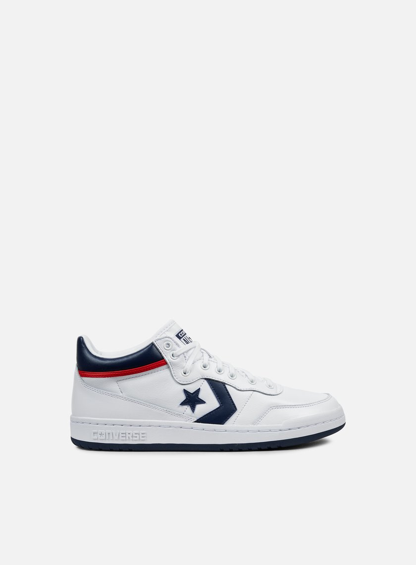 Converse - Fastbreak 83 Mid, White/Midnight Navy