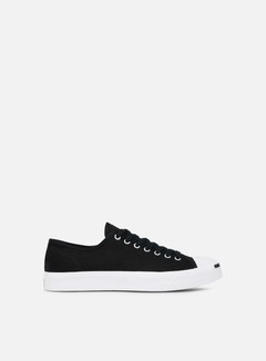 Converse - Jack Purcell Canvas Low, Black/White/Black