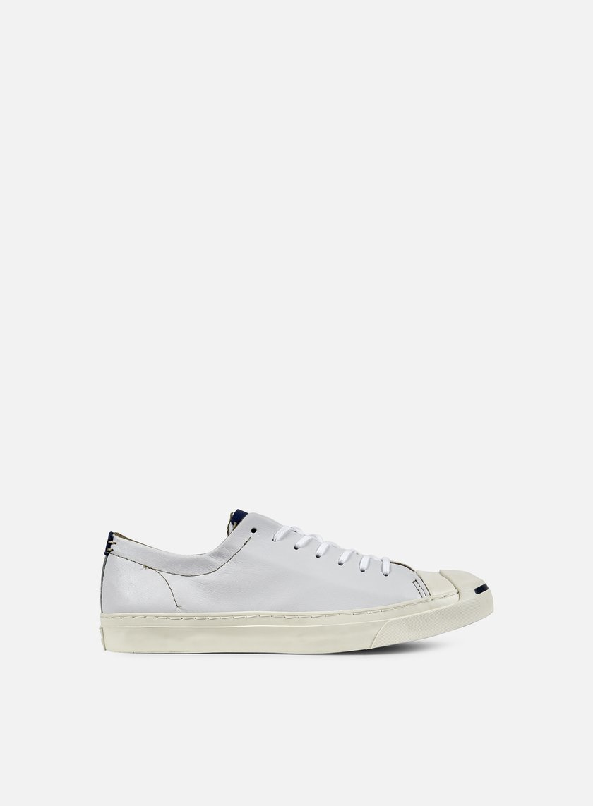 Converse - Jack Purcell Jack Ox, White/Egret/Road Trip Blue