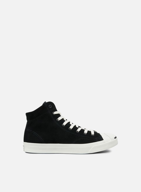 sneakers converse jack purcell jack suede mid black