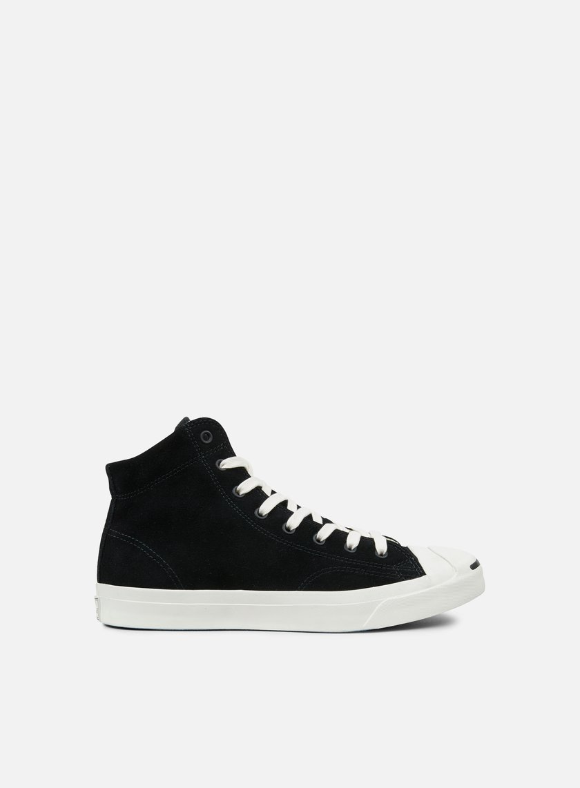 Converse - Jack Purcell Jack Suede Mid, Black