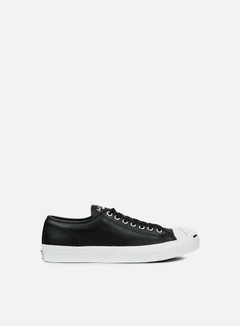 Converse - Jack Purcell Leather Ox, Black/White 1