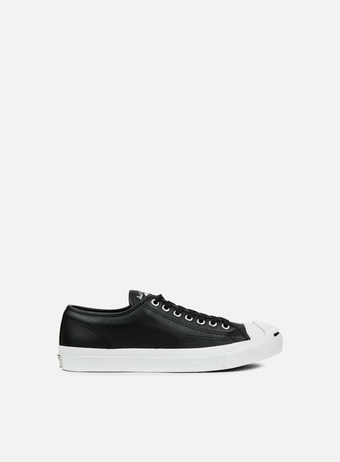 sneakers converse jack purcell leather ox black white