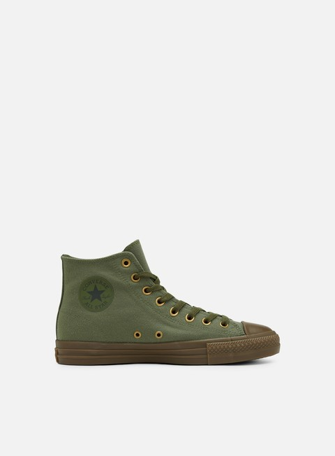 sneakers converse kevin rodriguez all star hi pro medium olive collard gum