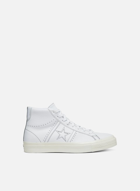 Outlet e Saldi Sneakers Alte Converse One Star Academy Hi