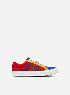 Converse - One Star Academy Ox Suede Low, Enamel Red/Blue/White