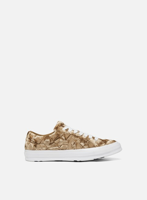 Sneakers Basse Converse One Star Golf Le Fleur Quilted Velvet Low