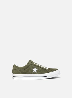 Converse - One Star OX, Field Surplus/White/White