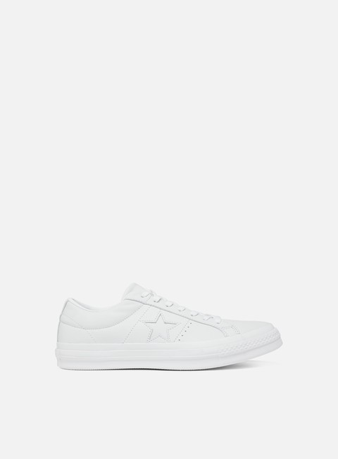 Outlet e Saldi Sneakers Basse Converse One Star Ox Leather