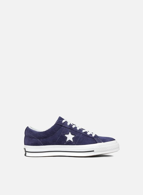 sneakers converse one star ox suede eclipse white white