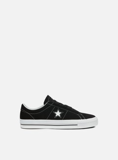 Converse - One Star Pro Ox, Black/White/White