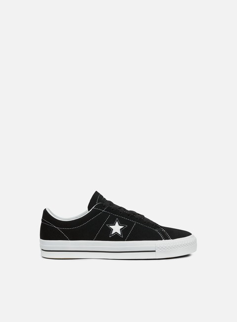 sneakers converse one star pro ox black white white