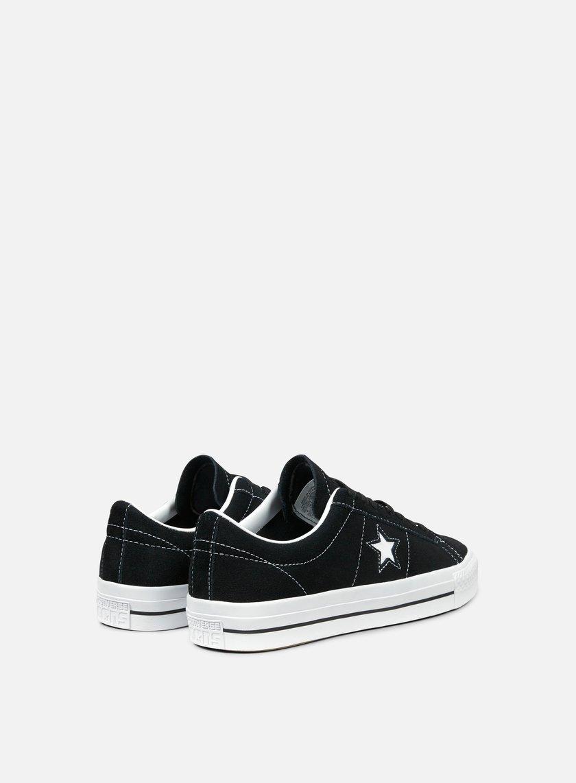 ... Converse - One Star Pro Ox, Black/White/White 3 ...