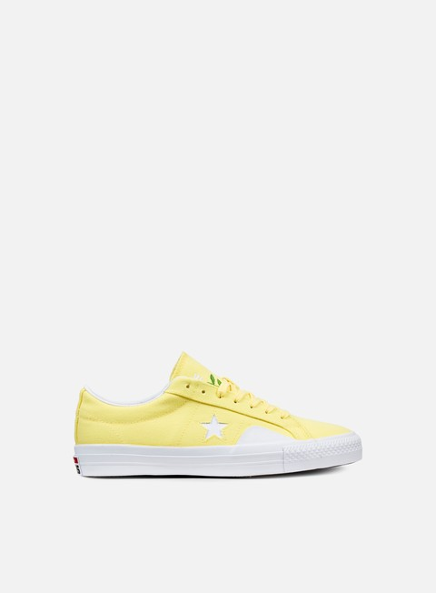 sneakers converse one star pro ox chocolate yellow white days ahead