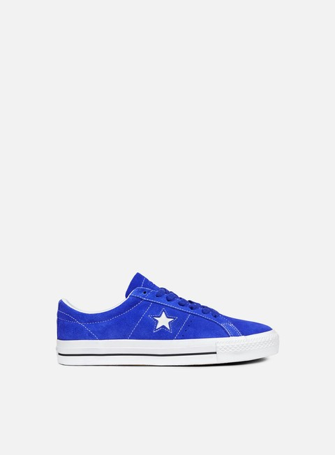 sneakers converse one star pro ox hyper royal white black