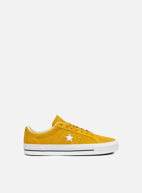 sneakers converse one star pro ox mineral yellow white black