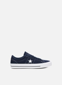 Converse - One Star Pro Ox, Obsidian/Obsidian/White