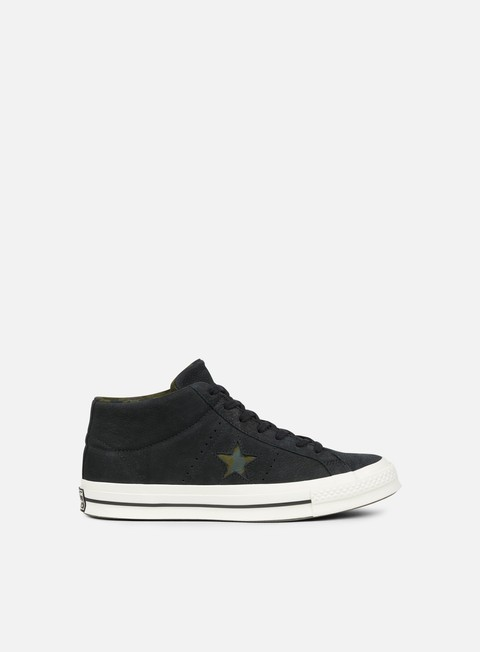 sneakers converse one star utility camo mid black egret herbal