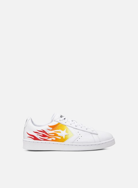 Outlet e Saldi Sneakers Basse Converse Pro Leather Archive Print Low