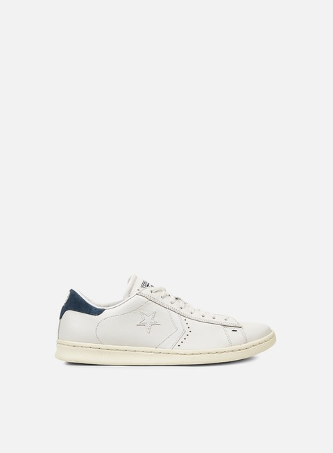 sneakers converse pro leather lp ox white dust blue