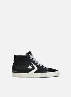 Converse - Pro Leather Vulc Mid, Black/Turtledove/Light Grey