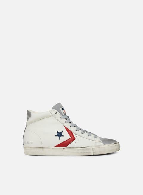 Outlet e Saldi Sneakers Alte Converse Pro Leather Vulc Mid