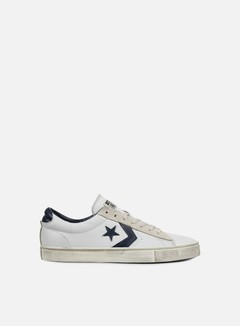 Converse - Pro Leather Vulc Ox, White/Navy/Turtledove