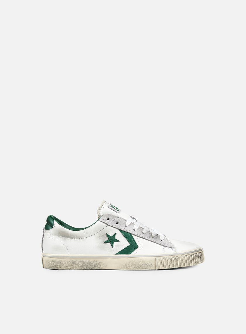 Converse - Pro Leather Vulc Ox, White/Pool Table/Turtledove