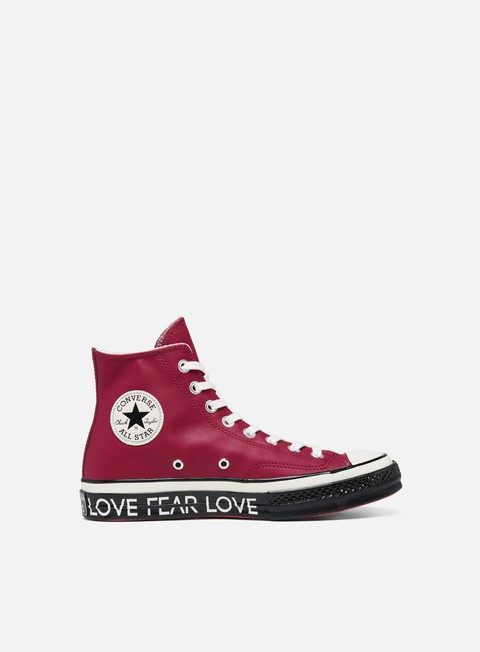 Outlet e Saldi Sneakers Alte Converse WMNS All Star 1970s Hi Love Graphic