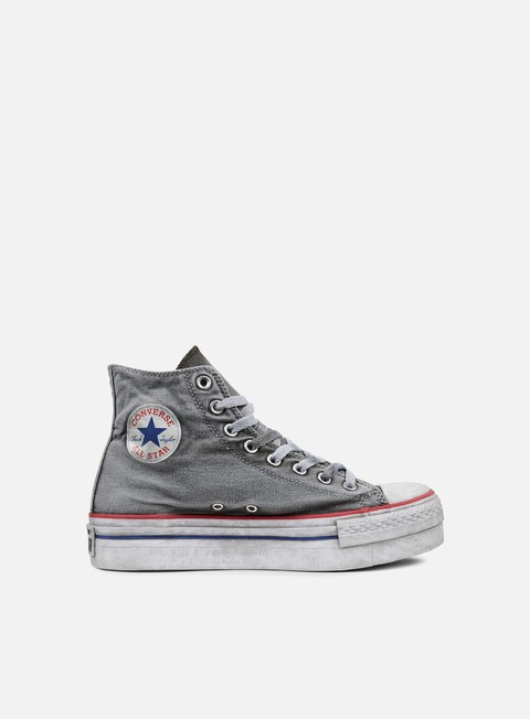 sneakers converse wmns all star hi canvas ltd white smoke