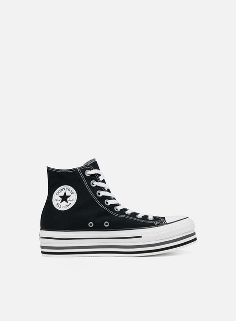 High Sneakers Converse WMNS All Star Hi Platform Layer 849d1761b