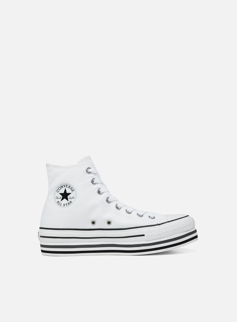 Outlet e Saldi Sneakers Alte Converse WMNS All Star Hi Platform Layer