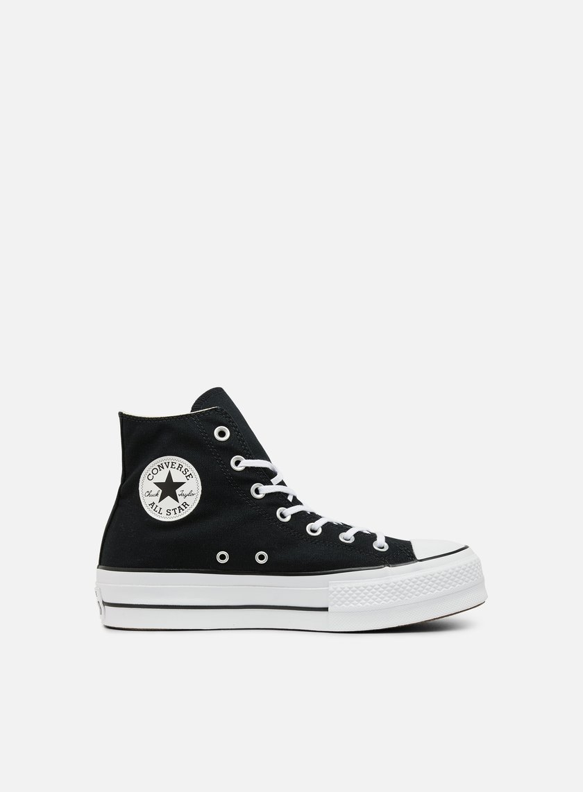 ce665db500f83 CONVERSE WMNS All Star Lift Hi Clean Core € 95 High Sneakers ...
