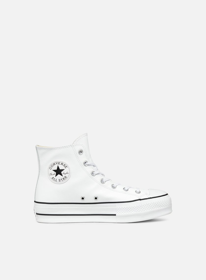 79f9ea19731 CONVERSE WMNS All Star Lift Hi Clean Leather € 60 High Sneakers ...