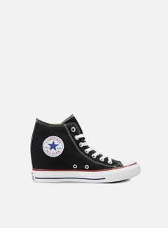 Converse - WMNS All Star Mid Lux Canvas, Black 1