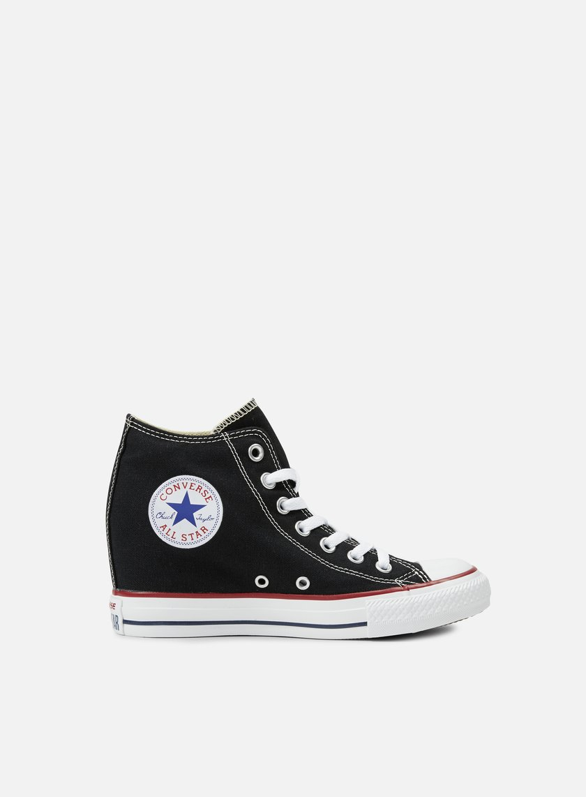 Converse - WMNS All Star Mid Lux Canvas, Black