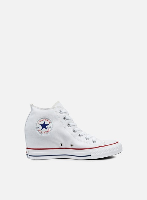 sneakers converse wmns all star mid lux canvas white