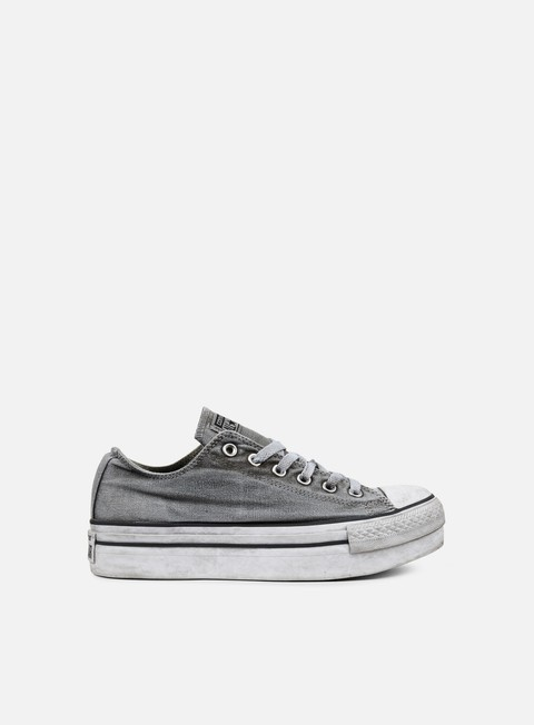 sneakers converse wmns all star ox canvas ltd white smoke