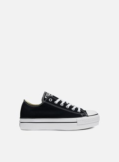 Converse - WMNS All Star Platform Ox Canvas, Black 1